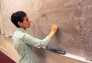 Maryam Mirzakhani: infância durante a guerra entre o Irã e o Iraque Foto: Reprodução da internet/ Simons Foundation and International Mathematical Union