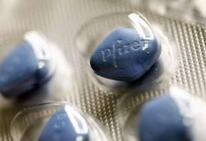Vendas de remédios para difunção erétil quintuplicou nos últimos quatro anos. Foto: Chris Ratcliffe / Bloomberg