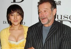 Zelda e Robin Williams em 2005: ator e humorista deixa três filhos Foto: Bill Davila / REUTERS