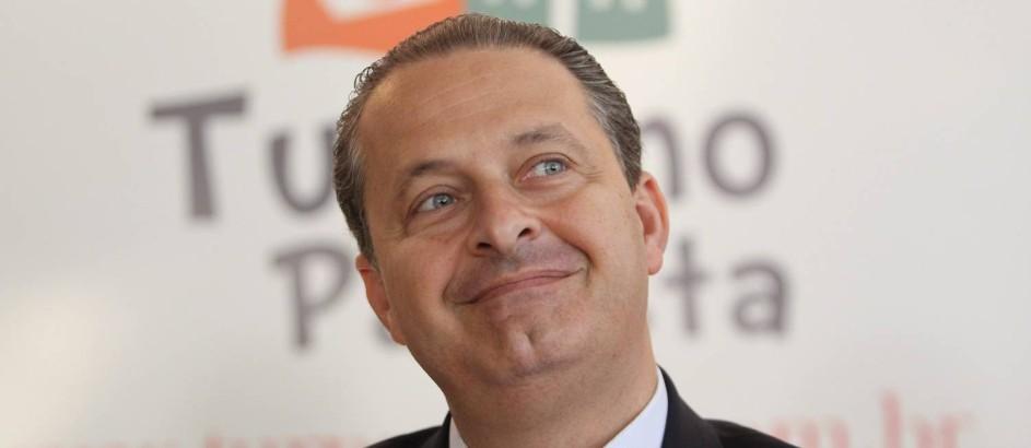 Eduardo Campos participa de encontros de prefeitos e lideranças politicas ligados ao turismo, em Brotas, em São Paulo Foto: Marcos Alves / Agência O Globo