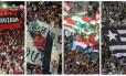 Torcidas de Flamengo, Vasco, Fluminense e Botafogo: