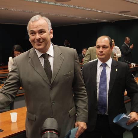 Deputado Júlio Delgado (PSB-MG) participou de reunião com a cúpula do partido Foto: Ailton de Freitas/09-04-2014 / Agência O Globo