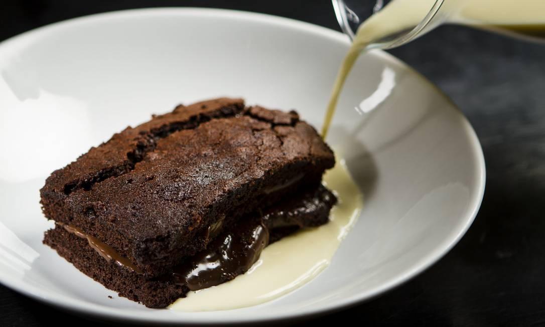 Bolo de chocolate. Foto: Fernando Lemos