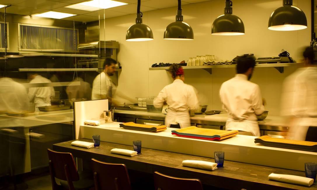 A cozinha do Lasai, do chef Rafa Costa e Silva Foto: / Fernando Lemos