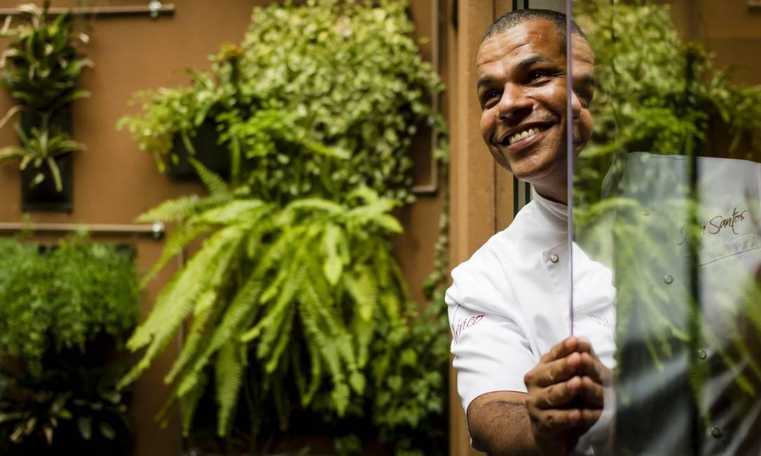 """Jan Santos, chef do Ibérico, um restaurante """"verde"""" Foto: Fernando Lemos"""