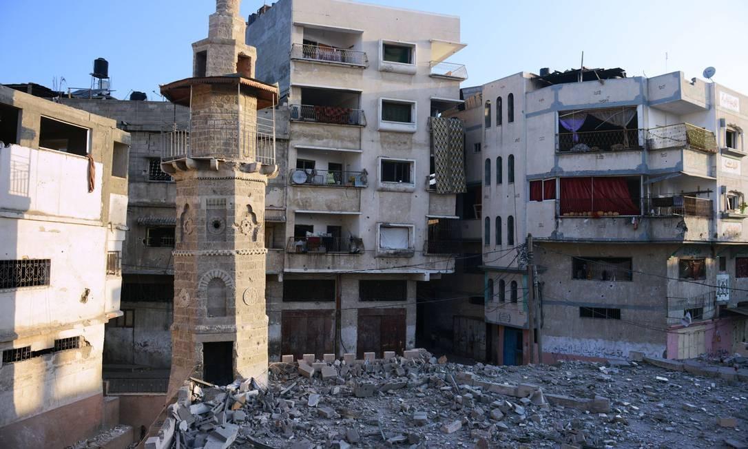 O patrimônio histórico, outra vítima da guerra em Gaza