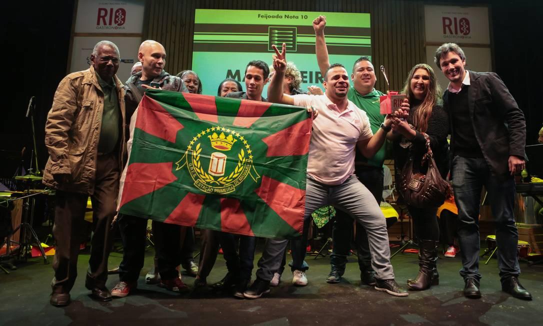 A Mangueira foi a vencedora do Concurso Feijoada Nota 10 Foto: Cecília Acioli/O Globo