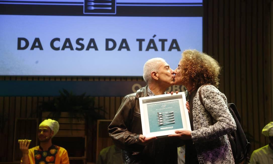 Da casa da Tatá levou o prêmio de melhor café da manhã Foto: Marcelo Carnaval / Agência O Globo