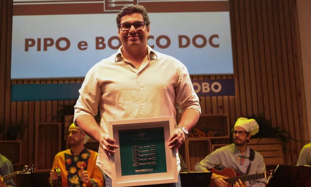 Pipo empatou com o Boteco DOC na categoria pé limpo. O restaurante Oro, ganhou como melhor contemporâneo Foto: Cecilia Acioli/O Globo