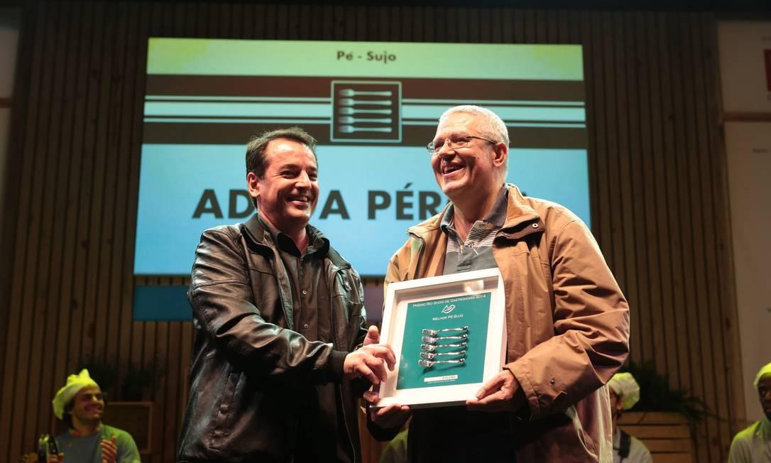 A Adega Pérola levou o prêmio de melhor pé-sujo Foto: Cecília Acioli/O Globo