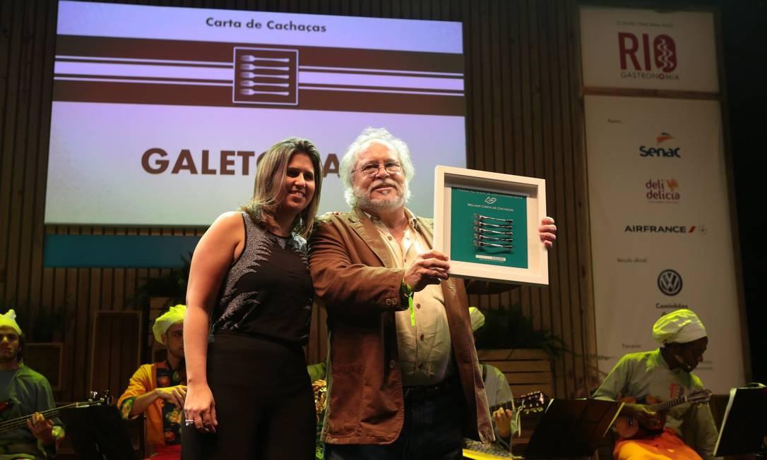 O Galeto Sat's levou o prêmio de melhor carta de cachaças Foto: Cecilia Acioli/O Globo