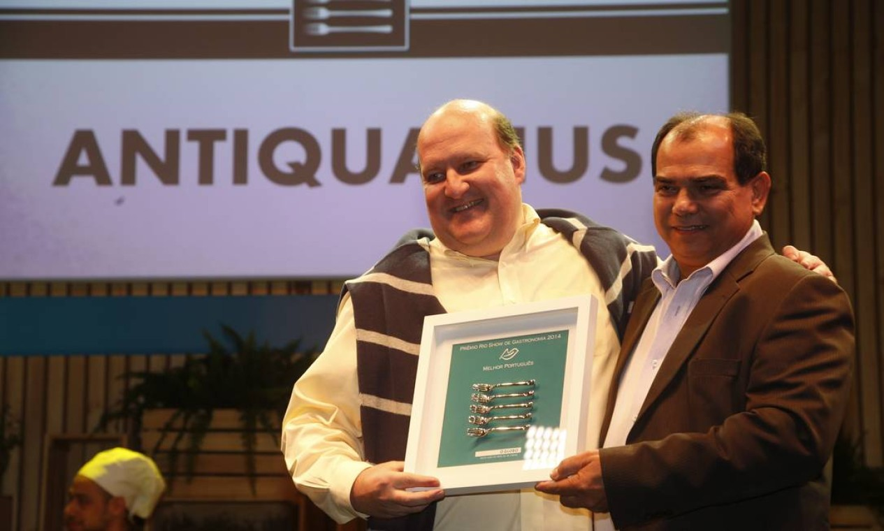 O Antiquarius levou o prêmio de Melhor Português Foto: Marcelo Carnaval/O Globo
