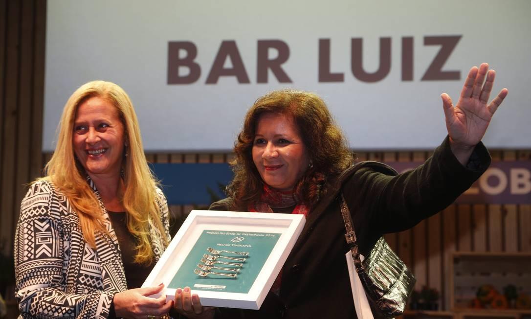 Bar Luiz levou o prêmio na categoria tradicional Foto: Marcelo Carnaval/O Globo