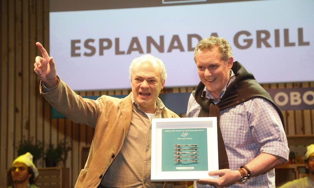 O Esplanada Grill ganhou o prêmio de melhor carne Foto: Marcelo Carnaval/O Globo