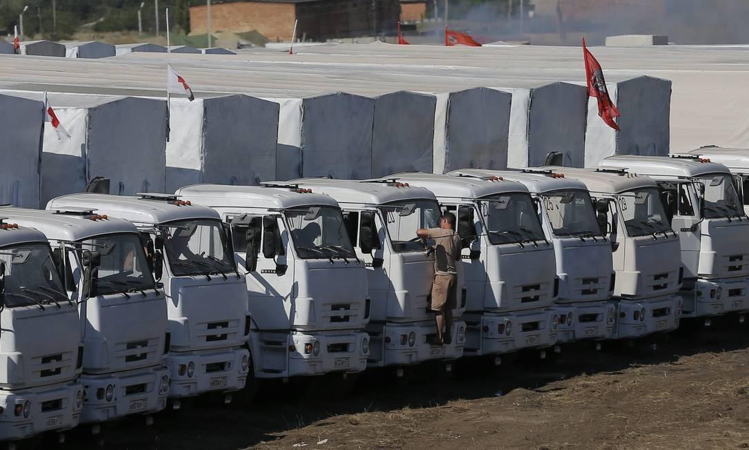 Rússia denuncia tentativas de impedir envio de ajuda humanitária à Ucrânia