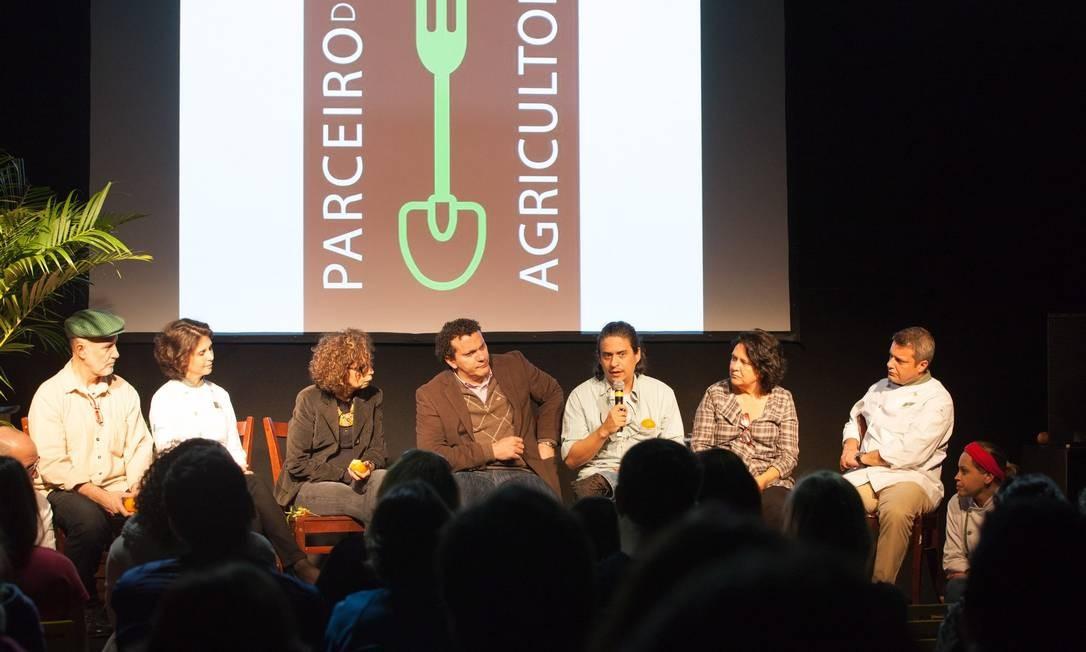 O projeto Parceiro Agricultor foi lançado neste sábado, durante o Rio Gastronomia Foto: Bianca Pimenta/O Globo