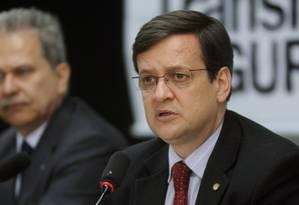 O deputado federal é um dos nomes mais cotados para a vaga de vice Foto: Brizza Cavalcante / Arquivo