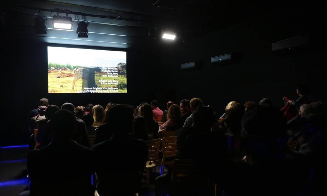 """O filme """"Por que você partiu?"""" foi exibido no Cinema com Gosto, no Circuito Rio Gastronomia Foto: Cecília Acioli/O Globo"""
