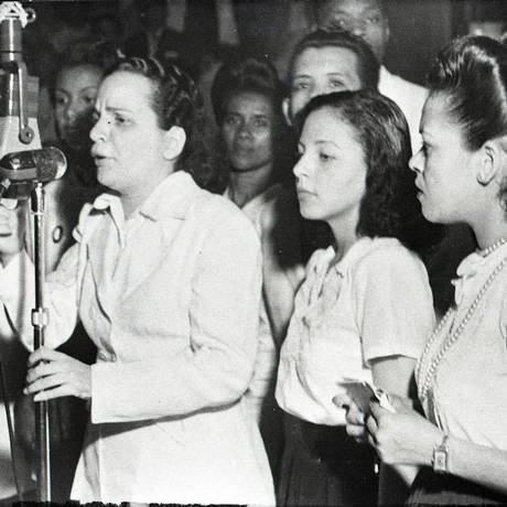 A cantora Aracy de Almeida Foto: Reprodução