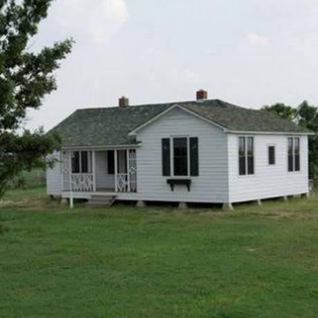 A casa onde Johnny Cash passou sua infância Foto: Divulgação