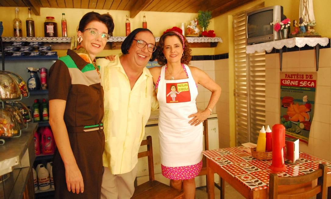 Dona Abigail, Beiçola e Nenê: vizinhança antiga na série 'A Grande Família' Foto: / João Miguel Júnior