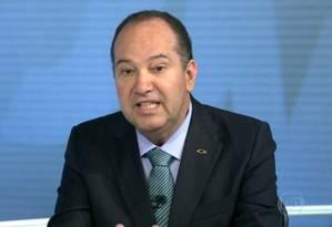 Pastor Everaldo é entrevistados pelo Jornal Nacional Foto: Reprodução