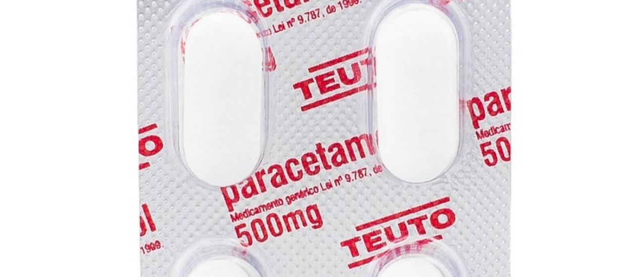 Anvisa suspende lote de Paracetamol 500mg do Laboratório Teuto após denúncia de parafuso em lugar de comprimido feita a Procon Foto: Reprodução