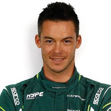 Lotterer foi piloto de testes da Jaguar em 2002 Foto: Divulgação/Caterham
