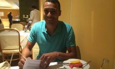 Élton assina contrato com o Flamengo Foto: Divulgação/Think Ball & Sports Consulting