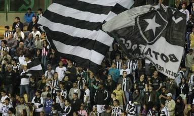 Torcida do Botafogo em foto de arquivo Foto: Vitor Silva / SSPress