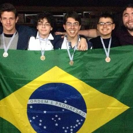 Foram duas medalhas de ouro, uma de prata e uma de bronze Foto: Divulgação
