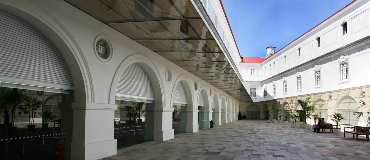 Interior do Museu Histórico Nacional à época de sua última modernização e restauração, em 2006 Foto: Marco Antônio Teixeira / Agência O Globo