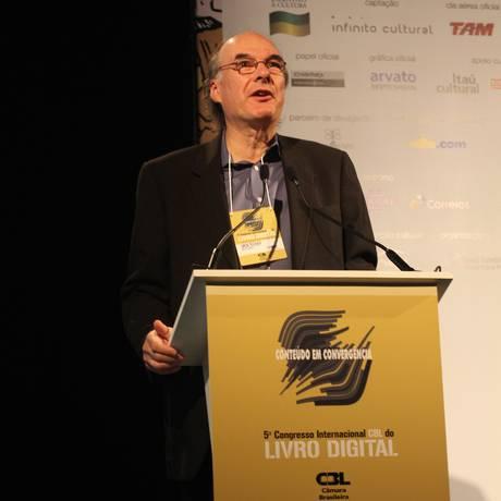 Oren Teicher, presidente da American Booksellers Association Foto: Luiz Henry