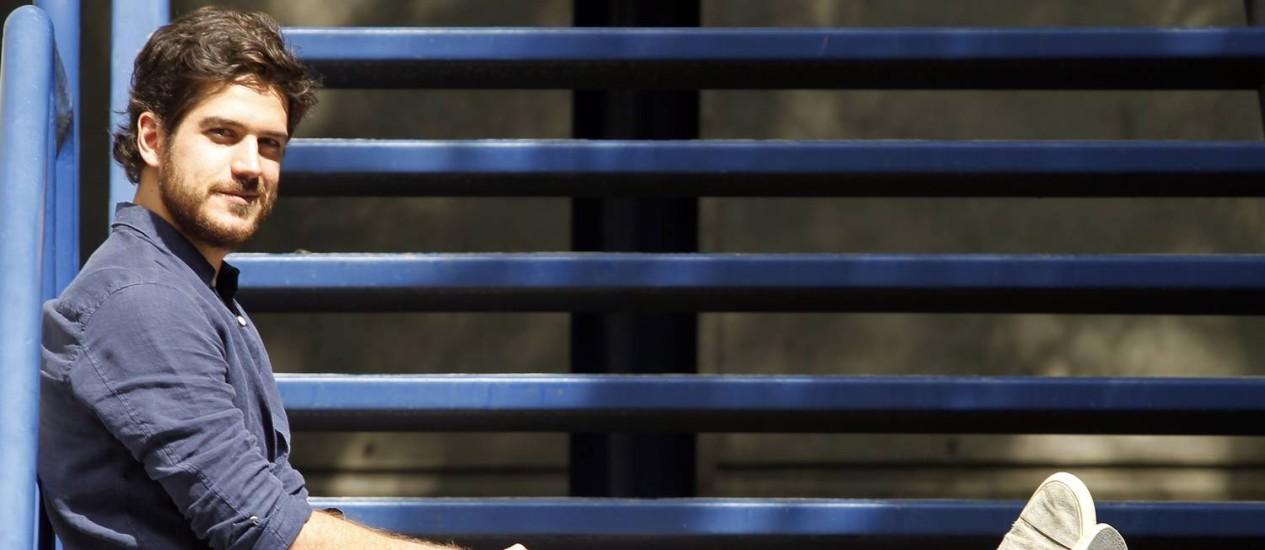 TV Rio de Janeiro (RJ) 11/08/2014 - Ator Marcos Pigossi protagonista da novela da 18.00h Boogie Oogie - Foto: Gustavo Miranda/ Agencia O Globo Foto: Agência O Globo