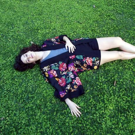 Maria Flor no Jardim Botânico Foto: O Globo / Marcos Ramos