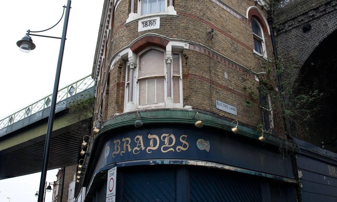 """""""Pub"""" fechado em Londres: a cada semana, 51 deles encerram as atividades no Reino Unido Foto: Divulgação"""