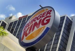 Burger King, controlada pela brasileira 3G Capital, é uma da maiores redes de fast-food dos Estados Unidos. Foto: Joe Raedle/AFP / AFP