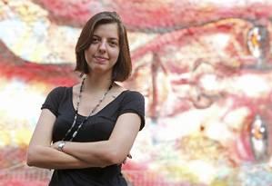Renata Saavedra desenvolve pesquisa que liga artes urbanas ao feminismo Foto: Felipe Hanower / Agência O Globo