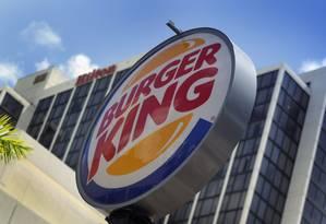 Loja do Burger King em Miami: cidade deixará de ser a sede da empresa Foto: Joe Raedle/Getty Images/AFP