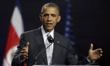 Barack Obama. Estados Unidos dialogam com aliados sobre possíveis ações militares conjuntas contra jihadistas do Estado Islâmico na Síria e no Iraque Foto: Pablo Martinez Monsivais / AP