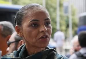 Para cientista político, Marina tende a ultrapassar Dilma no Sudeste Foto: Marcos Tristão / O Globo
