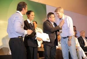 Marina Silva visitou a Feira Internacional de Tecnologia Sucroenergética Foto: Divulgação