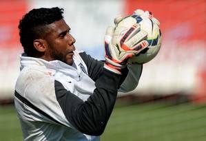 O goleiro Aranha, do Santos, em foto de arquivo Foto: Divulgação / Santos