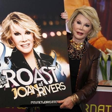 Joan Rivers em 2009: humorista tem 81 anos Foto: ERIC GAILLARD / REUTERS
