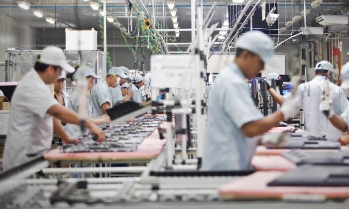 Indústria aguarda mudanças no câmbio para ganhar competitividade e estimular as exportações Foto: Leonardo Rodrigues / Leonardo Rodrigues/Valor Econômico/8-5-2014