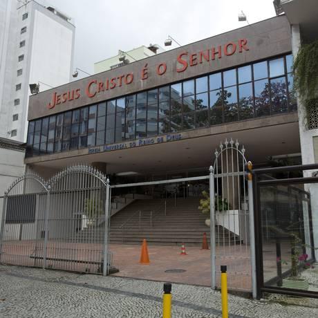 A fachada da Igreja Universal do Reino de Deus, na São Clemente, em Botafogo, no Rio: um dos templos ainda Foto: Fábio Seixo / Agência O Globo