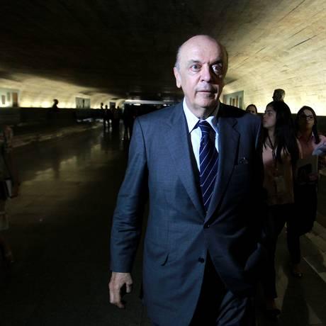 Serrá se mantém na liderança em São Paulo na disputa pelo Senado Foto: Ailton de Freitas/16-07-2013 / Agência O Globo