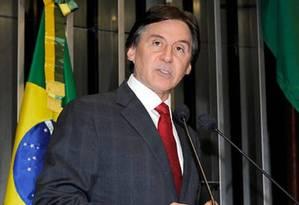 Senador Eunício Oliveira se mostrou preocupado com o corte orçamentário Foto: Agência Senado / Moreira Mariz