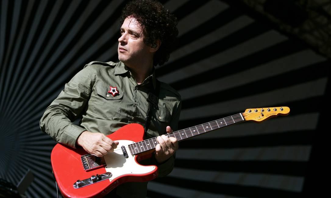 Gustavo Cerati, em 2006: músico ficou quatro anos em coma Foto: JEFF CHRISTENSEN / AP