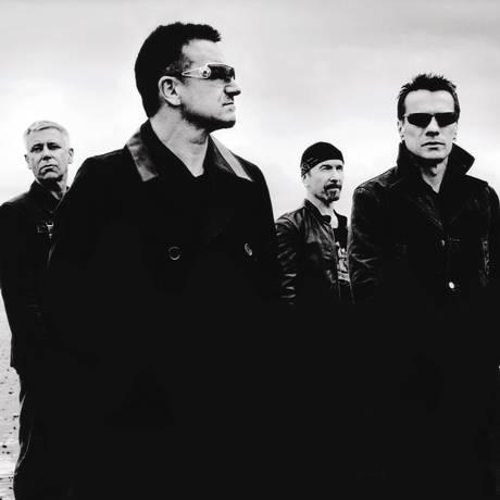 Adam Clayton, Bono Vox, The Edge e Larry Mullen Jr.: o U2 Foto: Anton Corbijn / Divulgação